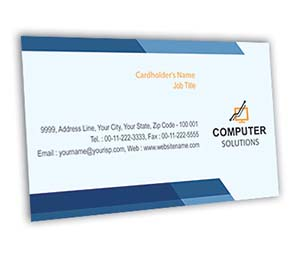 Business Card printing Computer Network