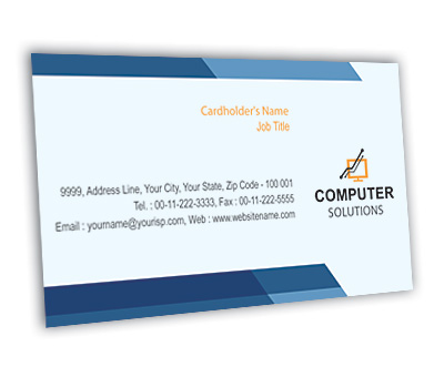 Business card design for computer network offset or digital printing online business card printing computer network colourmoves