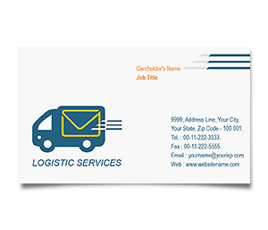 Business Card printing International Logistic Services