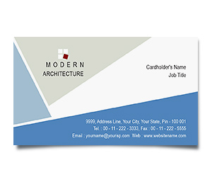 Business Card printing Modern Architecture