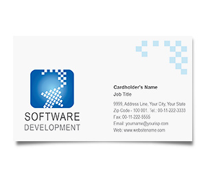 Business Card printing Software Development Company