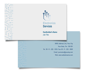 Business Card printing Electronics Design