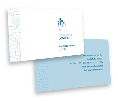Online Business Card printing Electronics Design