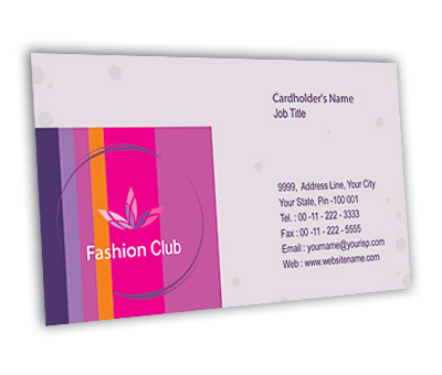 Online Business Card printing New Fashion Shop