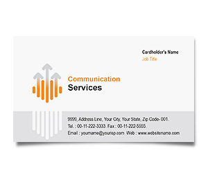 Business Card printing Digital Communication
