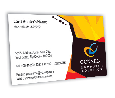 Business card design for repair computer offset or digital printing online business card printing repair computer fbccfo Images