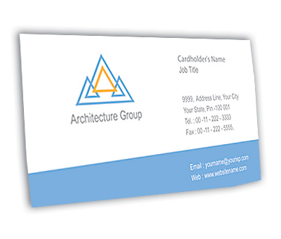 Online Business Card printing Architectural Firm