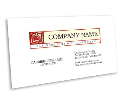 Online Business Card printing Financial Consultant