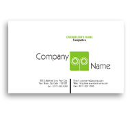 Online Business Card printing Green Energy
