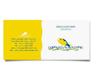 Business Card printing Aquarium Services