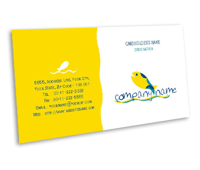 Online Business Card printing Aquarium Services