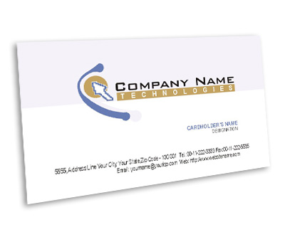 Online Business Card printing Software Consultant