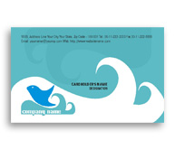Online Business Card printing Seafood Supplier