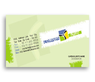 Online Business Card printing Landscape Consultant