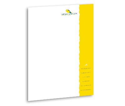 Online Letterhead printing Aquarium Services
