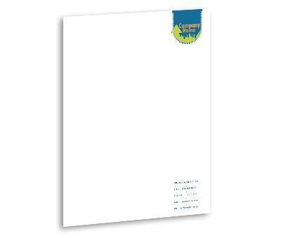 Letterhead design for building contractors offset or digital printing online letterhead printing building contractors spiritdancerdesigns Gallery