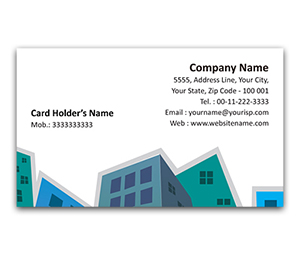 Flexi Business Card printing Town Planner
