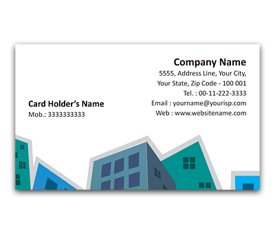 Online Flexi Business Card printing Town Planner