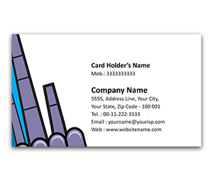Flexi Business Card printing Safety Equipment