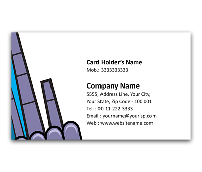 Online Flexi Business Card printing Safety Equipment