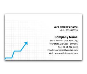 Flexi Business Card printing Stock Broker