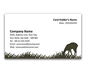 Flexi Business Card printing Zoo Park