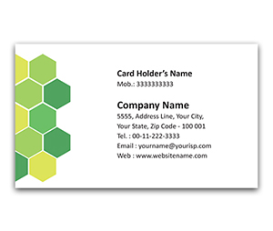 Flexi Business Card printing Cow Shelter