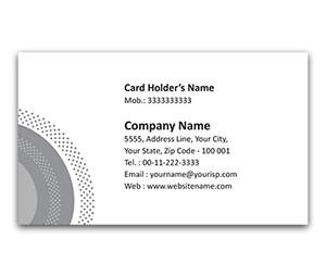 Flexi Business Card printing Waves