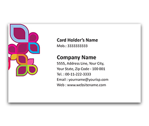 Flexi Business Card printing Leaf