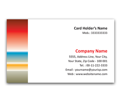 Online Flexi Business Card printing Horizon
