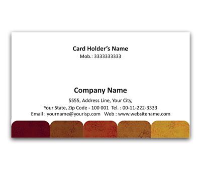 Online Flexi Business Card printing Timeline