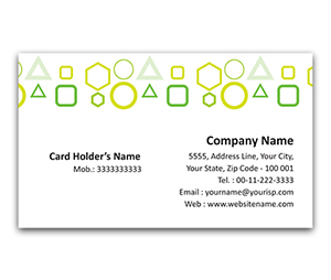 Flexi Business Card printing Square Code