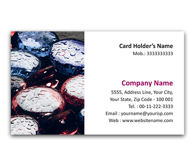 Online Flexi Business Card printing Stones