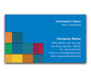 Flexi Business Card printing Cargo Containers