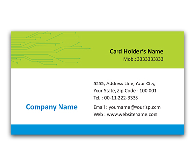 Online Flexi Business Card printing Computers Warehouse