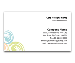 Flexi Business Card printing Print making