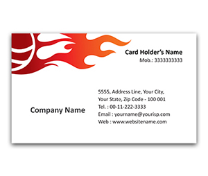 Flexi Business Card printing Sports Shops
