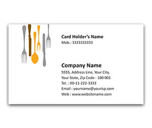 Flexi Business Card printing Motel