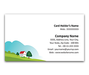 Flexi Business Card printing Weekend Home