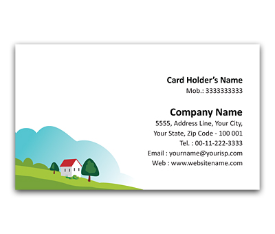 Online Flexi Business Card printing Weekend Home