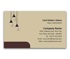 Flexi Business Card printing Interior Designers