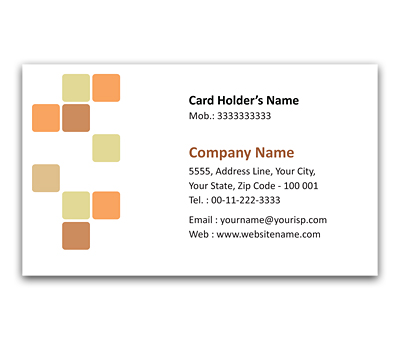 Online Flexi Business Card printing Medicine Research Center