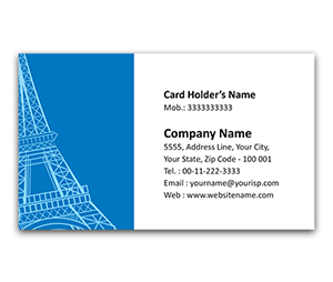 Flexi Business Card printing Travel Guide