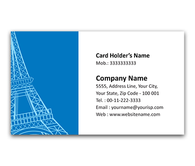Online Flexi Business Card printing Travel Guide