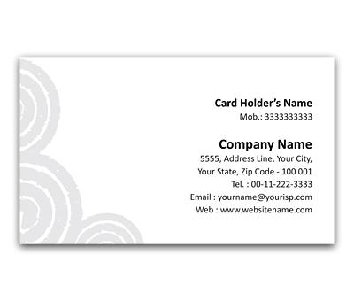 Online Flexi Business Card printing Spirals
