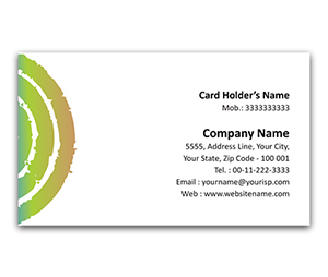 Flexi Business Card printing Thick Spirals