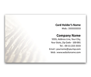 Flexi Business Card printing Soil