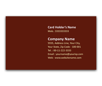Online Flexi Business Card printing Abstract Lighting