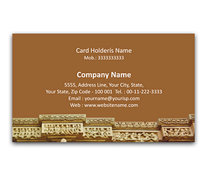 Flexi Business Card printing Cave Art