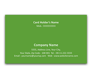 Flexi Business Card printing Shrab